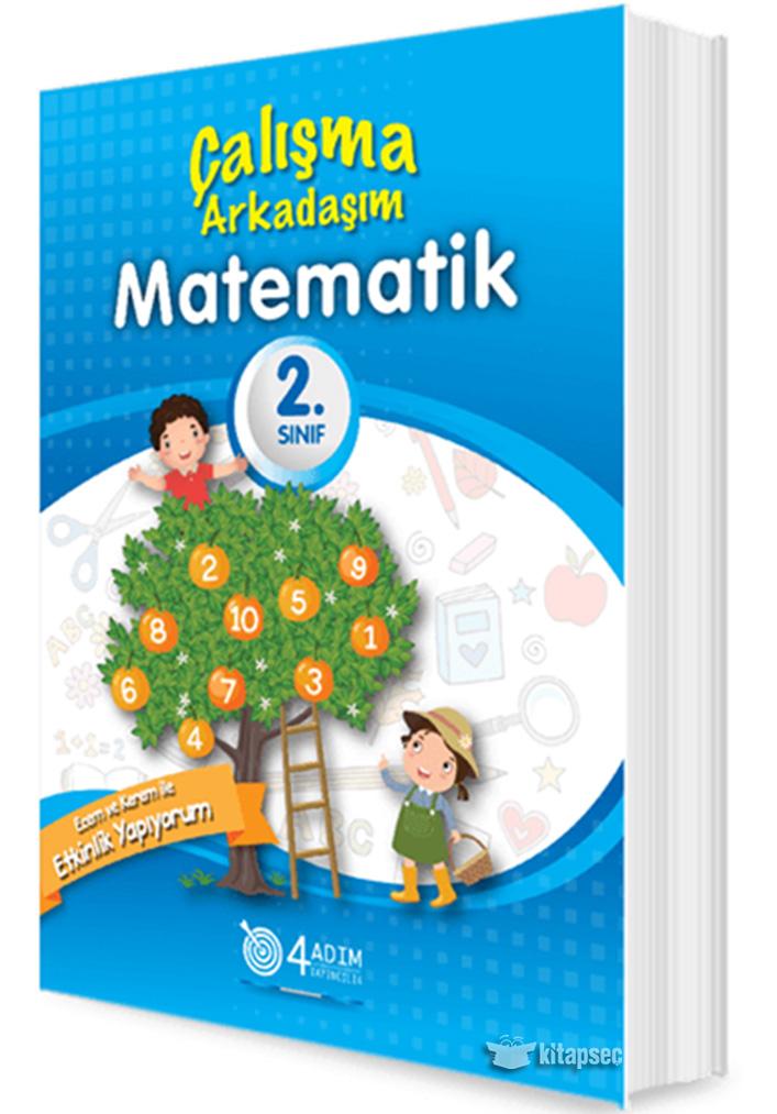 2 Sinif Matematik Calisma Arkadasim 4 Adim Yayincilik 9786058140622