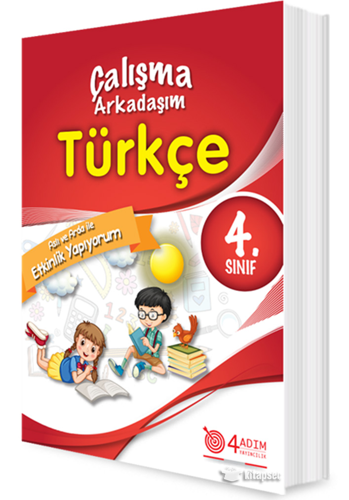 4 Sinif Turkce Calisma Arkadasim 4 Adim Yayincilik 9786056859472