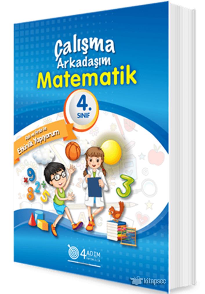 4 Sinif Matematik Calisma Arkadasim 4 Adim Yayincilik 9786056859458