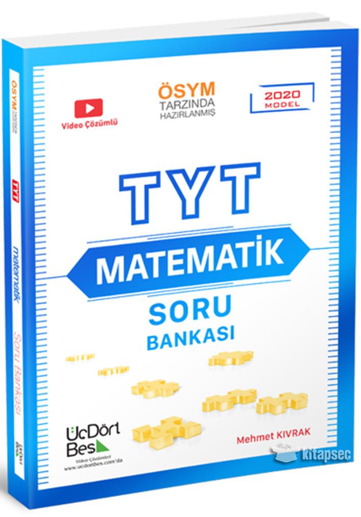 Tyt Matematik Soru Bankasi Uc Dort Bes Yayinlari 9786058136809