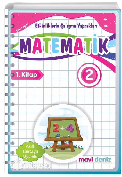 2 Sinif Matematik Etkinliklerle Calisma Yapraklari 1 Kitap Mavi