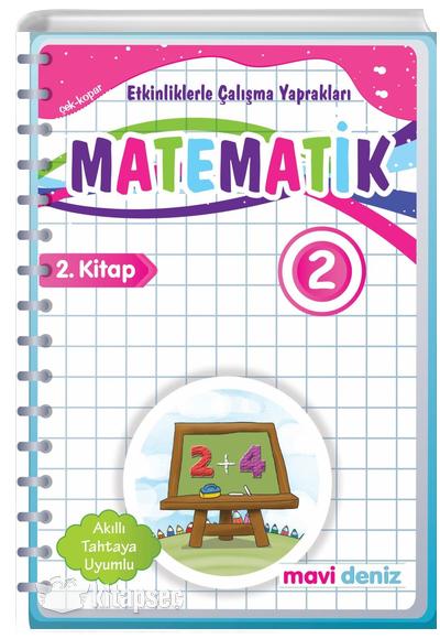 2 Sinif Matematik Etkinliklerle Calisma Yapraklari 2 Kitap Mavi