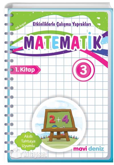 3 Sinif Matematik Etkinliklerle Calisma Yapraklari 1 Kitap Mavi