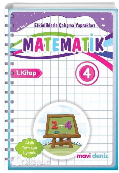 4 Sinif Matematik Etkinliklerle Calisma Yapraklari 1 Kitap Mavi