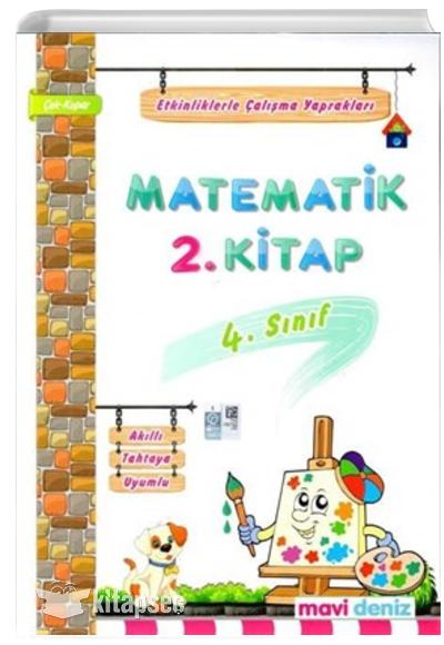 4 Sinif Matematik Etkinliklerle Calisma Yapraklari 2 Kitap Mavi