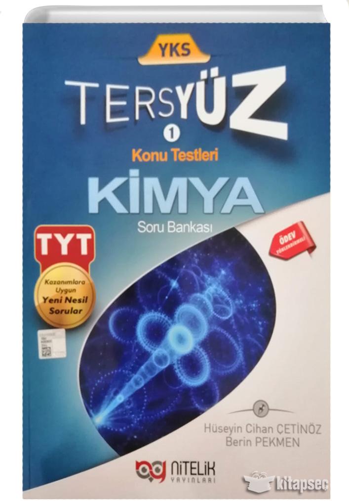 Tyt Kimya Tersyuz Soru Bankasi Nitelik Yayinlari 9786052722114