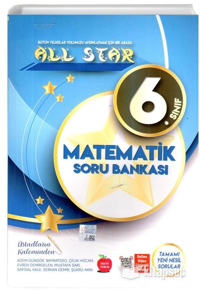 6 Sinif Matematik All Star Soru Bankasi Newton Yayinlari