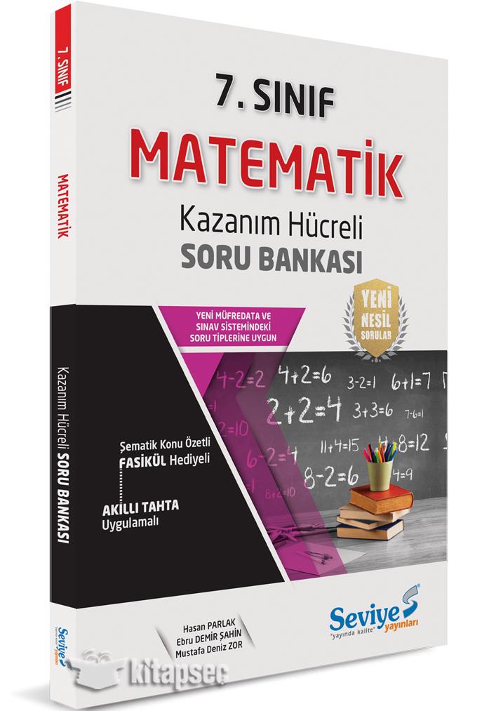 7 Sinif Matematik Kazanim Hucreli Soru Bankasi Seviye Yayinlari