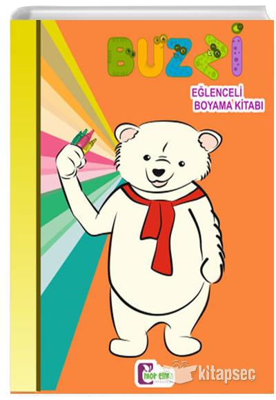 Buzzi Eglenceli Boyama Kitabi Mor Elma Yayincilik 9786059290326