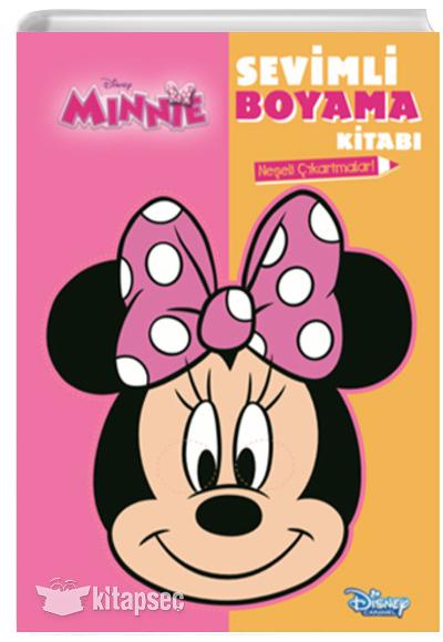 Disney Minnie Sevimli Boyama Kitabi Dogan Egmont 9786050946130