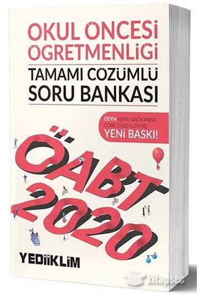 2020 Oabt Okul Oncesi Ogretmenligi Tamami Cozumlu Soru Bankasi