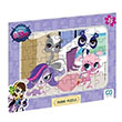 Littlest Pet Shop Frame Puzzle 2 Mor (35 Parça) CA Games