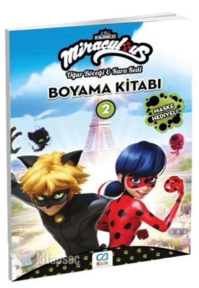 Miraculous Boyama Kitabi 2 Ca Games 8681889040022