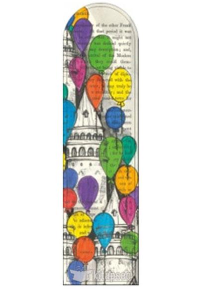 Galeri Alfa Balonlu Galata Istanbul Serisi Kitap Ayraci Galeri