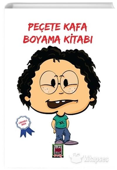 Pecete Kafa Boyama Kitabi Elips Kitap 9786051216706