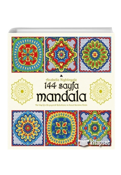 144 Sayfa Mandala Anabella Nightingale Kuzey Yayinlari 9786059909600