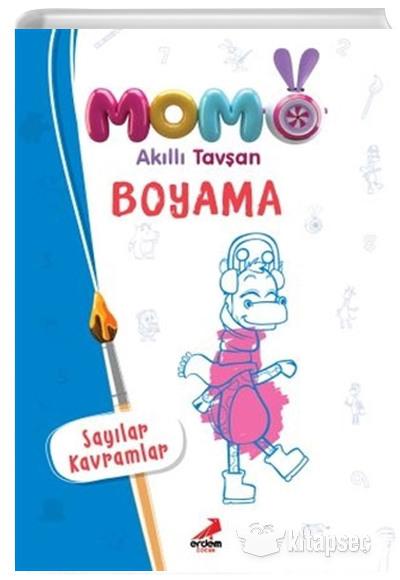 Momo Akilli Tavsan Boyama Erdem Cocuk 9786052791172