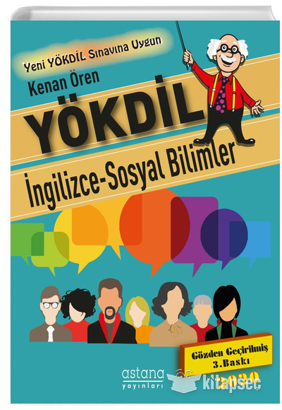 Yokdil Ingilizce Sosyal Bilimler Astana Yayinlari 9786055010546